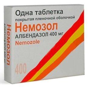 Альбендозол (Немозол)
