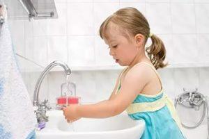 Привычка мыть руки у ребенка