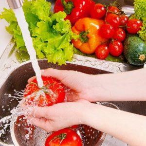 Тщательно мойте продукты перед употреблением в пищу!
