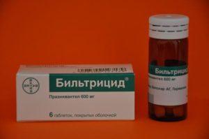 Бильтрицид - действующее вещество Празиквантел