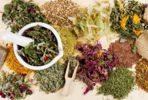 Лечебные травы в составе монастырского чая