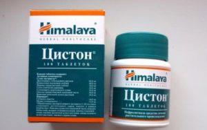 100 таблеток Цистона