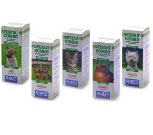Фебтал Комбо для кошек и собак